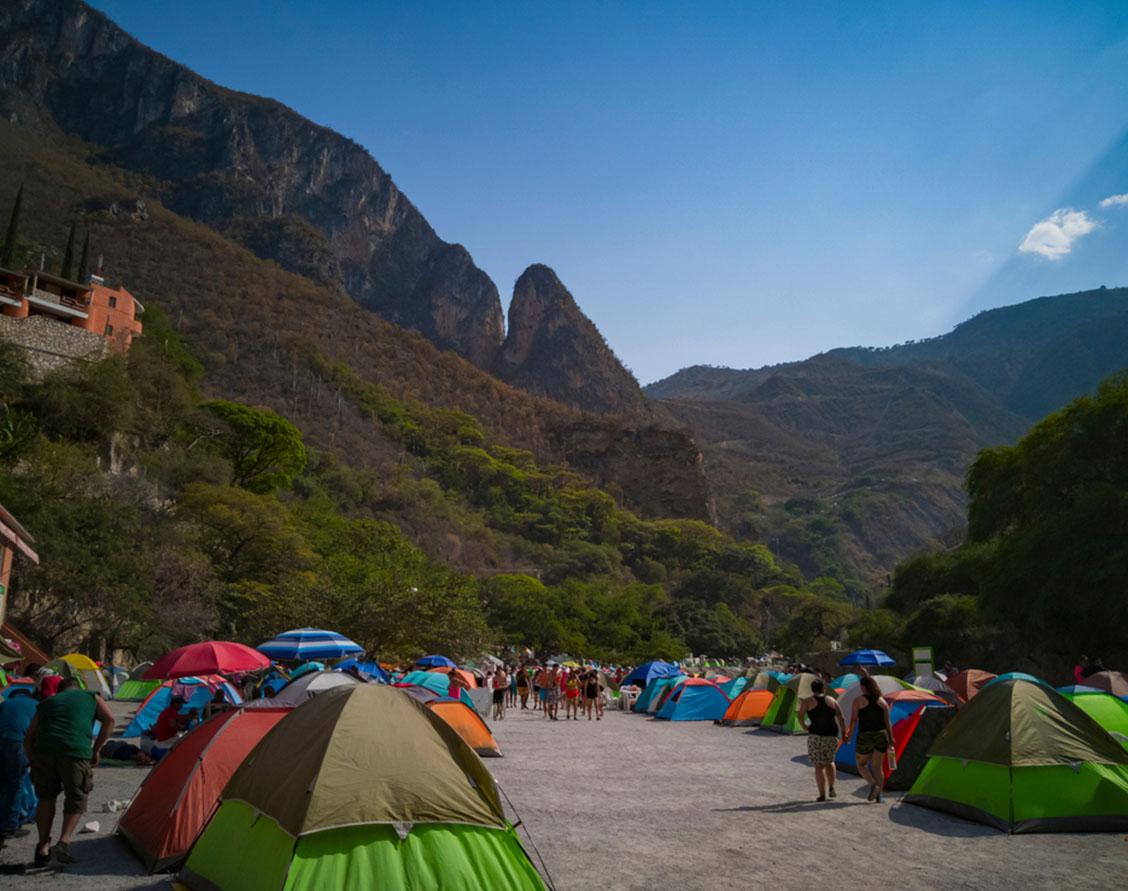zona acampar
